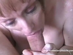 : Slutty Grandmother Horny At Home