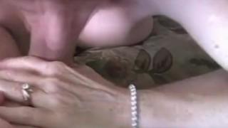 Grandmother slutty at home horny fake blowjob
