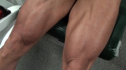 Working Legs In The Gym Pro Workout