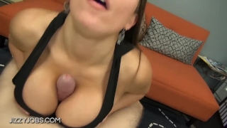 Titfuck in sports bra Young point