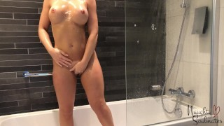 Hotwife shower before fuck session - Naughtysoulmates