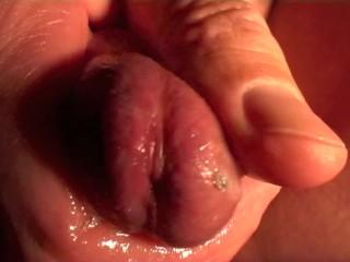beautiful glans massage close-up (erotic art)