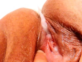 FTM Chub - Daddy's Best Friend's Huge Load Creampie/Pushing Out His Cum