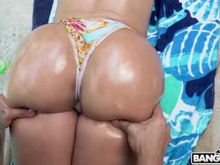BANGBROS - Horny Gardener Fucks Busty Latina Valerie Kay's Big Ass