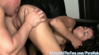 Teen Stephani Moretti Gets Fucked in Ass for First Time!