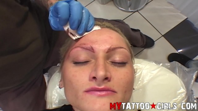 Alira astro pussy tattoo Alira astro eyebrows tattoo