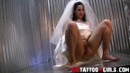 Kitten Wedding Dress PhotoShoot