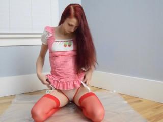 Strawberry Short Cake Ass Teaser 1-Halloween2017-MissKittyMoon.ManyVids.com