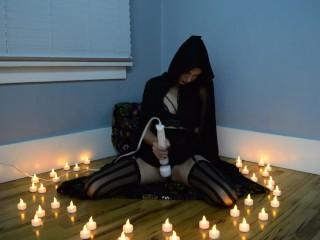 Dark Witchy Dildo Solo Teaser 2 -Halloween 2017- MissKittyMoon.ManyVids.com