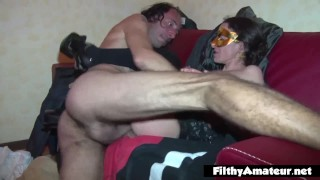A nasty orgy on pissing filthy amateur milf natural lingerie