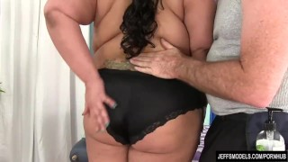 Giant boobed asian BBW Miss Lingling gets a sex massage  big natural tits jeffsmodels miss lingling big boobs fat ass sex toys fat girl big tits plumper bbw chunky chubby