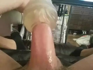 Fuck Dick with Toy to Daddys Girl Fuck