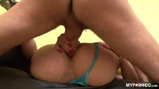 Hardcore anal fuck of LadyBoy ass
