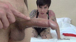 Rough Fucked and Cucked for Cash  cuckold creampie femdom pov point of view big cock hotwife humiliation mom cuck fetish stranger rough mother mrs mischief rough sex cuckold pov rough blowjob