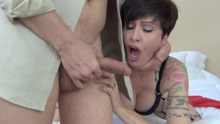 Rough Fucked and Cucked for Cash Blowjob amateur