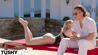 Preview 2 of TUSHY Mia Malkova HUGE ANAL GAPES