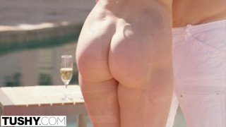 Preview 4 of TUSHY Mia Malkova HUGE ANAL GAPES