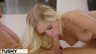 Tushy by dominant her guy gets french ass girls american blonde destroyed babe anal