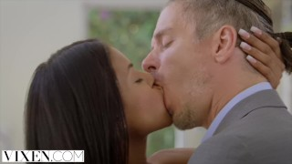 VIXEN Teen Fucks Her Best Friend's Dad