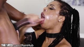 Kira Noir's First Throating Scene with Huge Dick Hardcore outdoor