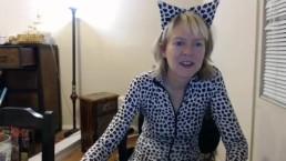 Jamie Foster Webcam Catsuit