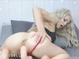 LittleMissElle Fucks Her Pussy with Big Dildo! PsyFaerie