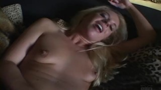 In bbc horny blonde fuck the ass a shows rough