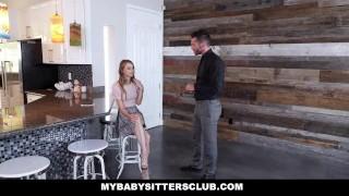 MyBabySittersClub - Horny Babysitter Jillian Janson Fucks Huge Cock