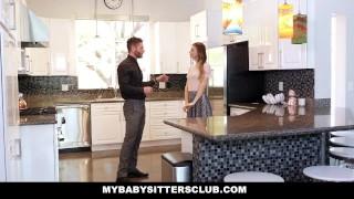 MyBabySittersClub - Horny Babysitter Jillian Janson Fucks Huge Cock Hardcore facial