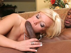 Big Booty Blonde MILF takes on black stallion - AdultMemberZone