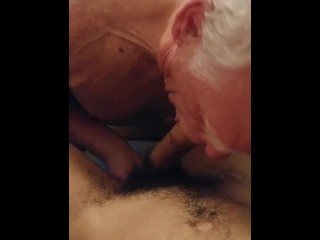 Grandpa Sucking my Teen Cock - Kyle Douglas