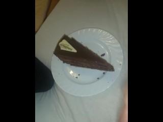 Meine Sahne auf Kuchen