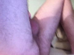 Moving my hips to Fuck my Fleshlight!