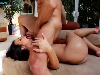 The sexy Kinky Holly West enjoys sex toys and anal