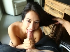 Eva Lovia - Quick Blowjob