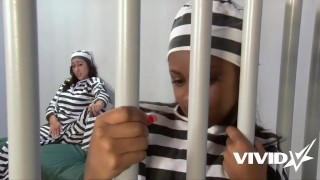 Vivid.com - Jail time can be fun for these 2 slutty lesbians