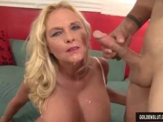 Exgf com free videos mature blonde sara skippers loves to suck cock and take it up her pussy