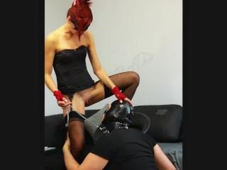 Flexi pussy insertion ass fuck