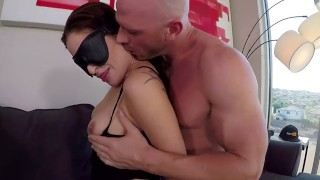 Pornhub Toys Wrist Restraint & EyeMask Sucking and Fucking Ft. Kissa Sins