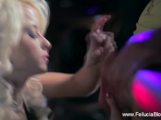 Party Time With Bowjob Blonde
