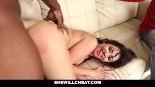 Hot bbc shewillcheat wife fuck watches cuckold hubby interracial cuckold