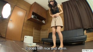JAV Pee Desperation challenge massive failure Subtitled Czech boobs