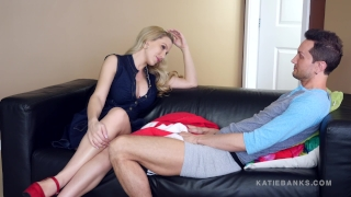 Slutty Past EXPOSED - cheating wife - Katie Banks Cowgirl shaved