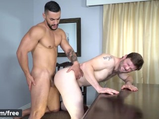 Men.com - Arad Winwin and Dennis West - Soap Studs Part 1 - Drill My Hole