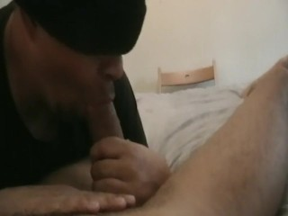 STRAIGHT DRUNK EATS HIS COCK