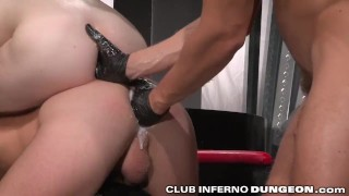 2 Hungry Bottoms Fisted Deep at the Same Time Busty pornhub.com