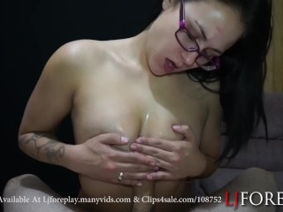 Titty Fucking Til He Cums - LJFOREPLAY