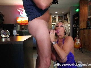 MILF Neighbor Wants To Suck My Cock
