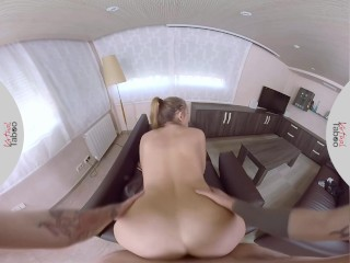 VIRTUAL TABOO – Russian Busty Sister Takes Brother's Hard Cock