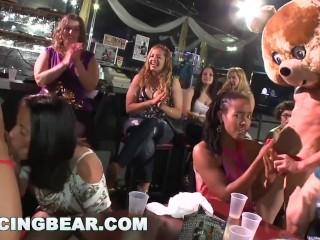 Bear Dancing - Real, Real Horny Women, Sucking Big Dicks At A Cfnm Party